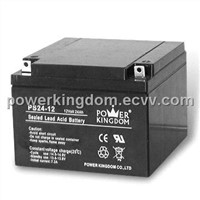 12V 24Ah Sealed Lead-acid Battery