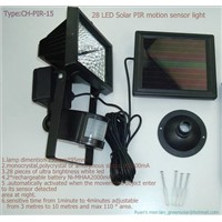 20 LED Solar PIR motion sensor ligh