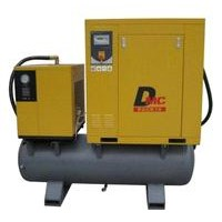 3-IN-1 Screw Compressor with Air Dryer On Tank