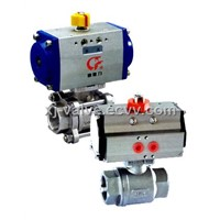 3PC Pneumatic Ball Valve