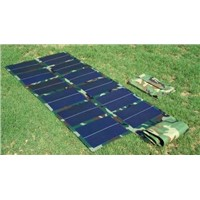 72W/18V Thin Film Amorphous Portable Foldable Solar Panel Charger