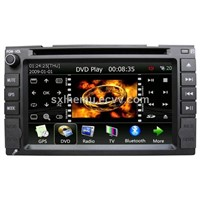 7-Inch Car DVD with Win-CE, Wi-Fi, GPS and TV function