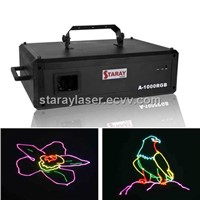 A-1000RGB Full Colour Catoon Laser Light