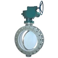 Bi-Directional Pressure and Metal Seal Butterfly Valve