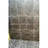 Black & White Marble / Black Granite Tile