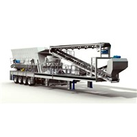 Closed-circuit Mobile Cone Crusher Crushing Plant