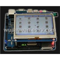 "Development Board SKY2440v2 with 4.3"" LCD"