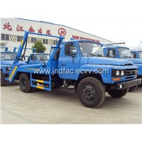 Dongfeng Conventional Cab Swing Arm Type Garbage Truck