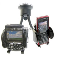 Dual Twin Car Holder For Sat Nav/PDA/Mobile Phone/GPS