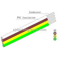 Flat Ribbon Electric Wire