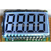 LCD Module And Display with LED Backlight