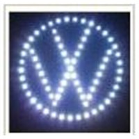 LED Car Logo