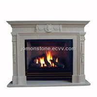 Marble Mantel Fireplace (XMJ-MF15)