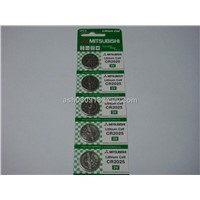 Mitsubishi Lithium Cell 3v CR2025 Button Battery