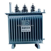 Oil-immersed theft-proof transformer