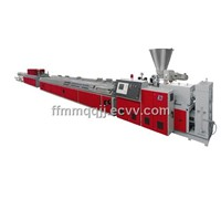 PVC/PE/PP Wood Plastic Panel Production Line