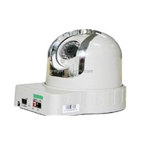 Pan/Tilt Dome IP Camera with Night Vision