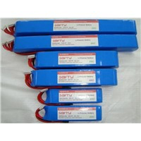 RFI Long Lipo Battery/ 10 Cell 5000mah 7.4v 40 c /30c Li Poly Lithium Batteries