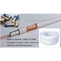 RG6U Cable, Satellite TV Cable, CCTV Cable, MATV Cable, HDTV Cable
