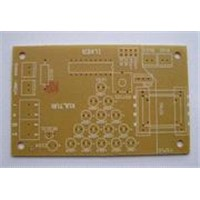 Single sided circuit board