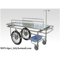 Stainless steel stretcher trolley B-7