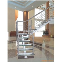 Straight beam ladder ,Single-girder stairs from China