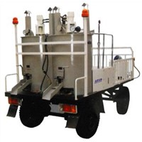 road marking machine:Trailer-type hydraulic cylinder pre-heat YL-400
