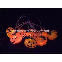 USB 7 Color Changing Pumpkin Cluster Chain