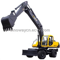 Wheel Excavator with 0.9m3 Bucket Capacity (SWEL210)