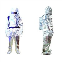 heat insulation suit for fire fighting