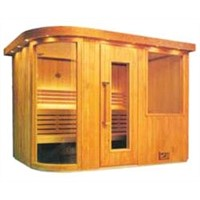 Infrared Sauna Room for spa healthy equipment
