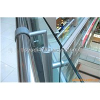 long-term supply Stainless steel glass handrails, shopping malls rails
