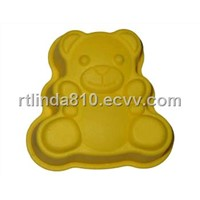 Silicone Bakeware in Bear