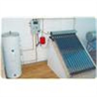 Split Pressure Solar Heating System