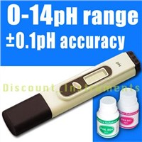 Digital PH Meter Tester 2 Buffer Hydroponic Aquarium