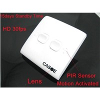 Motion Activated Power Switch Hidden Camera