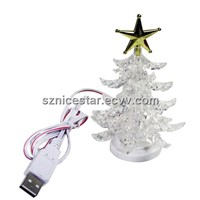 USB Christmas Tree with Color Changed