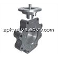 Stainless Steel Butterfly Valve (FIG918-SS)