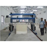 Long Sheet Horizontal Foam Cutting Machine