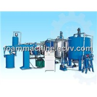 Semi-Auto Batch Sponge Foaming Machine