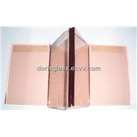 4-6mm Pink Float Glass for building glass