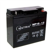 12v18ah lead acid battery