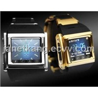 1.5''Touch Screen 1.3mega Pixels Camera MP3/MP4 GSM Watch Phone W600
