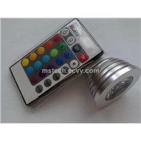 3W RGB LED Spot Light (MS-RGB3W-B)