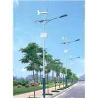 500W Hybrid (Wind+Solar Powered) Street Light