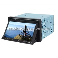 "7"" double-din Bluetooth GPS car dvd player"