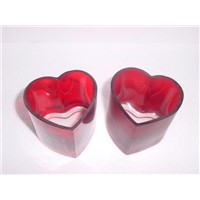 Candle Wedding Favors Heart Glass Holder