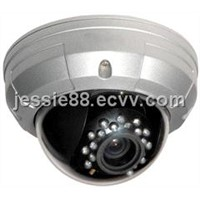 Color Vandal Proof IR Dome Camera