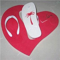 Debossed Logo Board Sandals and Slippers