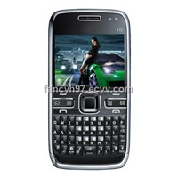 E72 unlocked cell phone with Wifi TV Quad band Dual camera ,GSM mobile phone